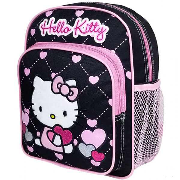 Hello Kitty Backpack with Love Print