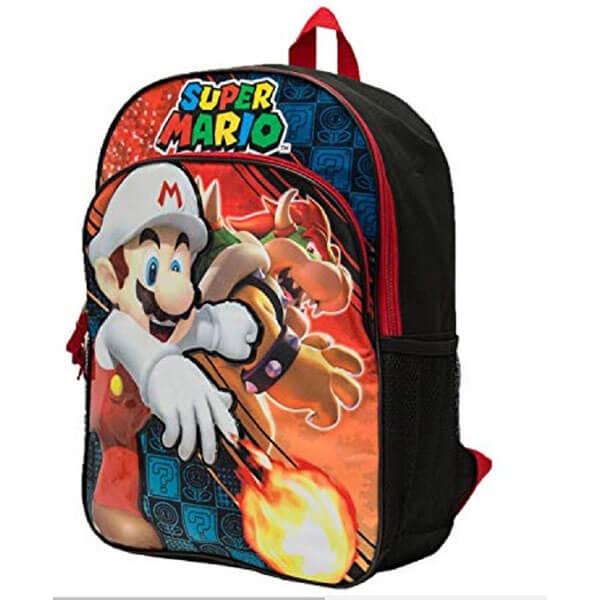 Mario Bowser Grade Schooler Backpack