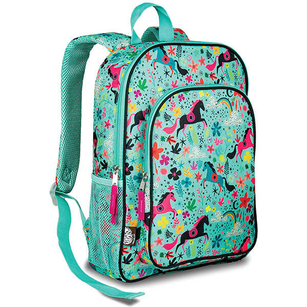 Play-proof Backpack with Whimsical Pattern