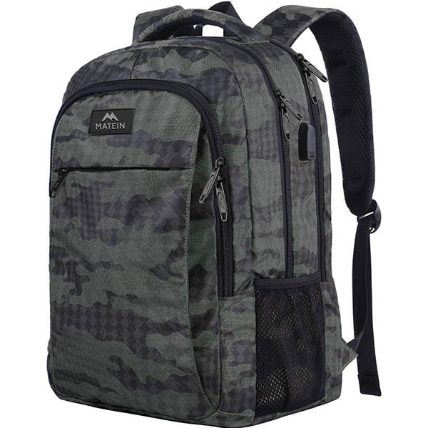 Anti-theft Feature Camouflage Backpack