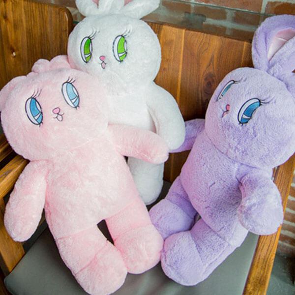 Light Violet Rabbit Doll Backpack