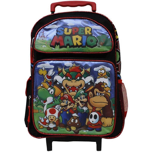 Rolling Super Mario Backpack