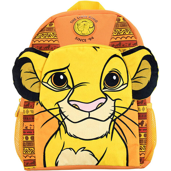 Simba Backpack with 3D Plush Ears