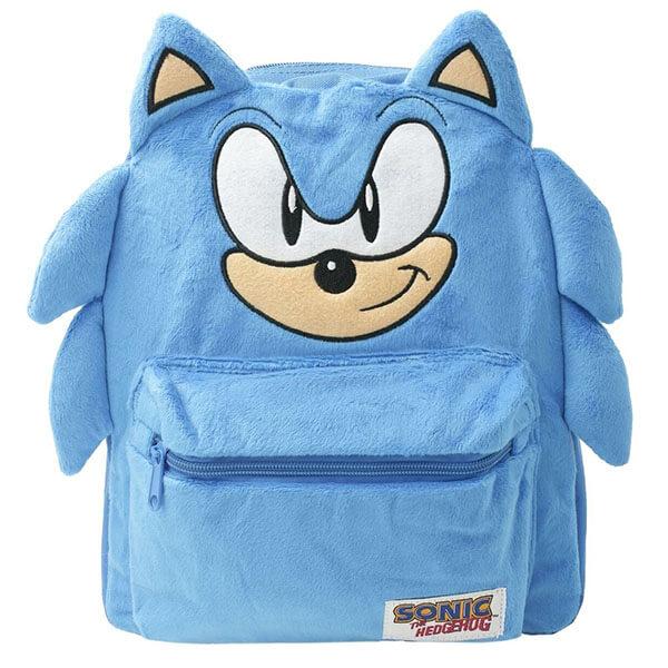 Sonic The Hedgehog with Cute Ears Backpack