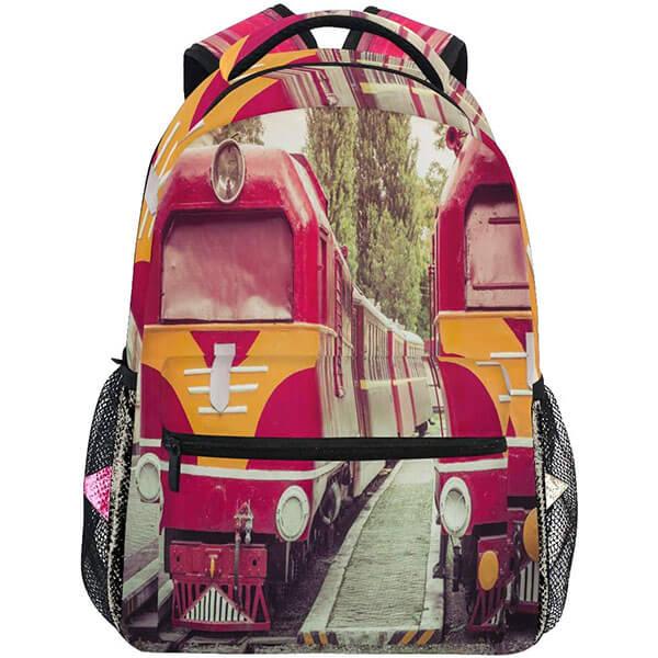 Cross Roads City Train Backpack