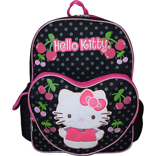 Hello Kitty Embroidered Logo Cordura Backpack
