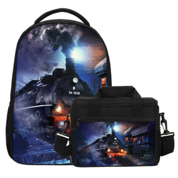 Moonlight Backpack with Insulated Lunch Bag