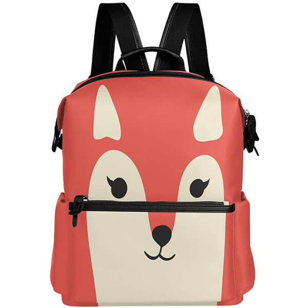 Sturdy Water-resistant Fox Backpack for College