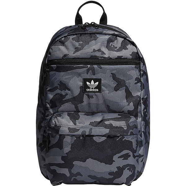 Adidas Logo Black Camouflage Backpack