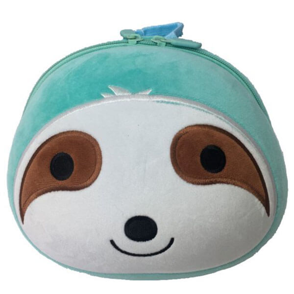 Sloth Face Toddlers Backpack with Safety Harness