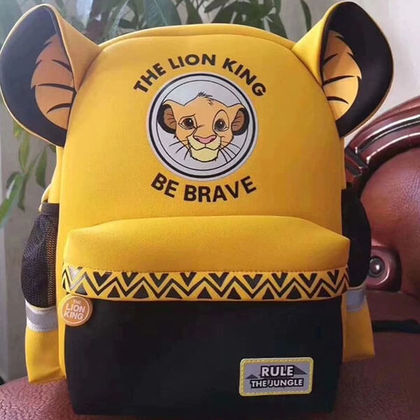 The Lion King Backpack with Simba Logo