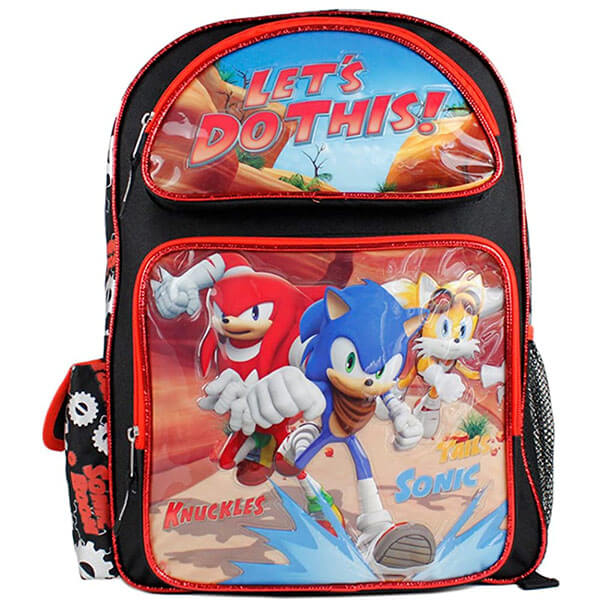 Velcro Side Pouch Sonic Backpack