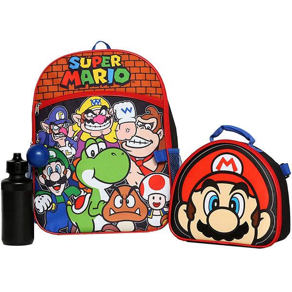 Mario World Backpack Full Set