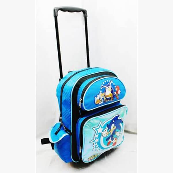 Super Hero Sonic the Hedgehog Rolling Backpack