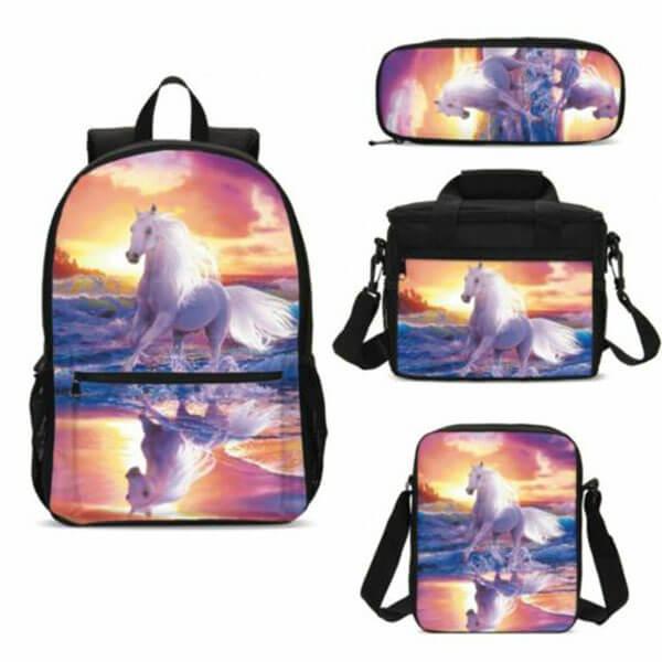 Ergonomic Designed Multi-Color Backpack