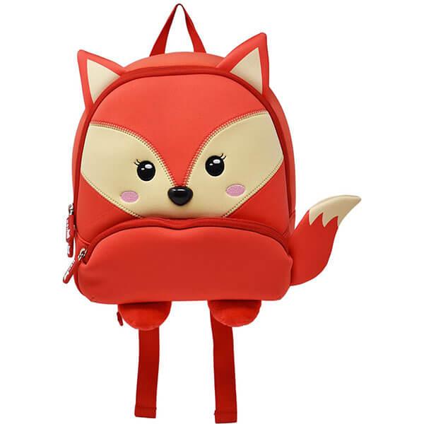 Waterproof Fox Mini Backpack for Teens