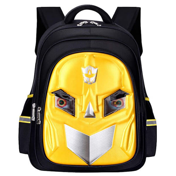 3D Bumblebee Backpack with Eyes Flash