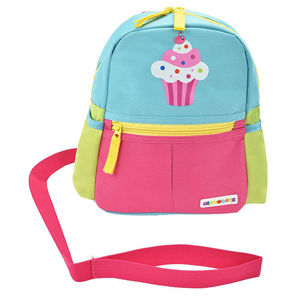 Cupcake Toddler's Backpack with Leash