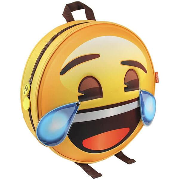 Rolling on the Floor Emoji Bookbag