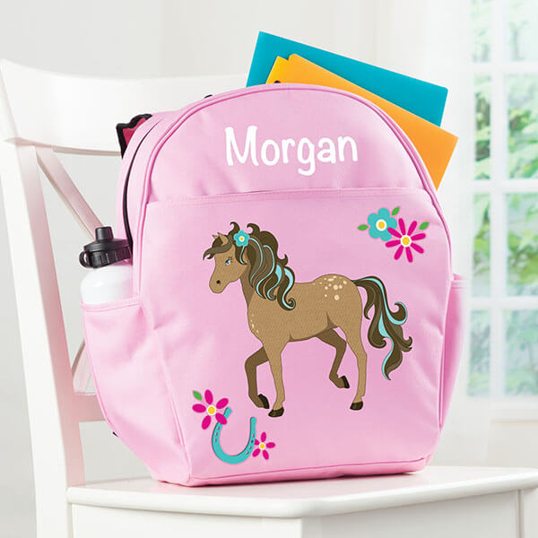 Personalized Happy Horse Backpack