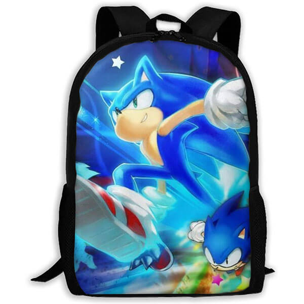 The Hedgehog In Action Fashionable Backpack