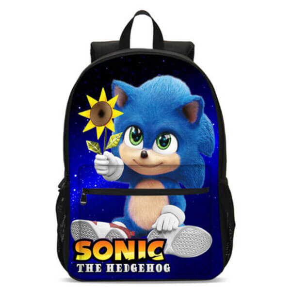Lovely Sonic with Sunflower Backpack