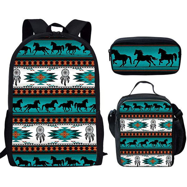 Dream Catcher Ethnic Backpack for Kids