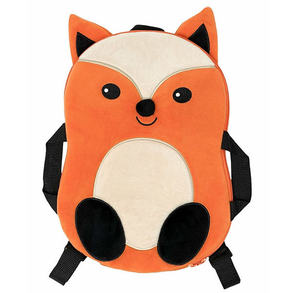 Frankie Fox Plush Backpack for Toddlers