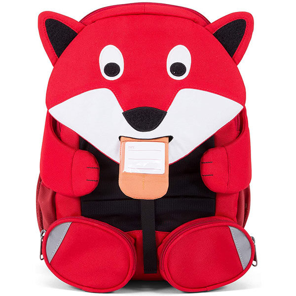 Fun Red Fox Backpack with Chest Buckle
