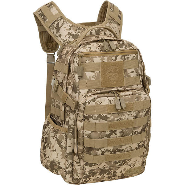Velcro Patch Holder Hiking Backpack