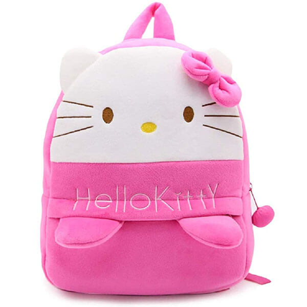 Environmental Fabric Cartoon Hello Kitty Backpack