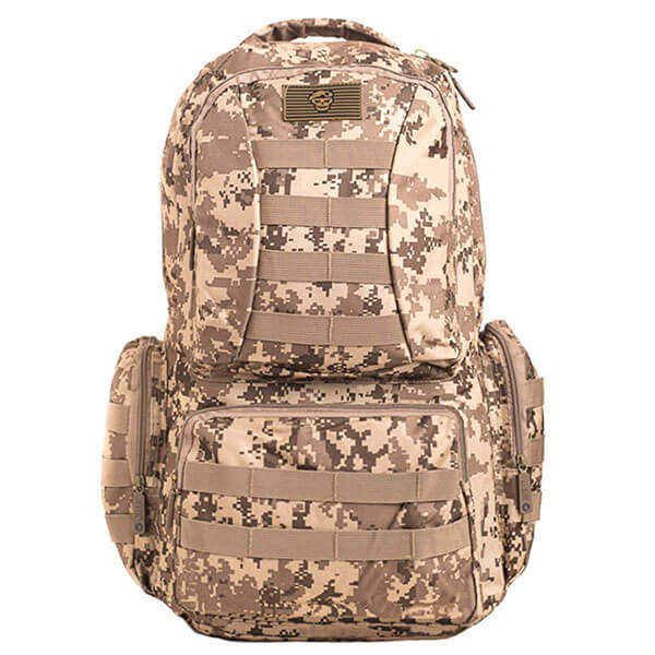 Tactical Molle Camouflage Hiking Backpack