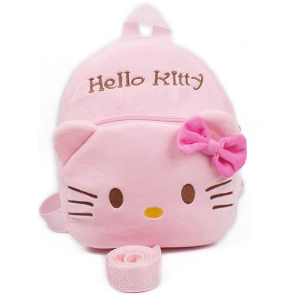 Hello Mini Kitty Backpack with Safety Leash