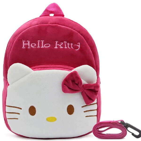 BPA free Hello Kitty Backpack with Detachable Tether
