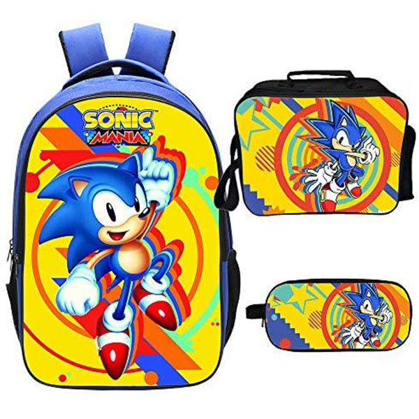 Sonic the Hedgehog in Red Shoe Backpack Set