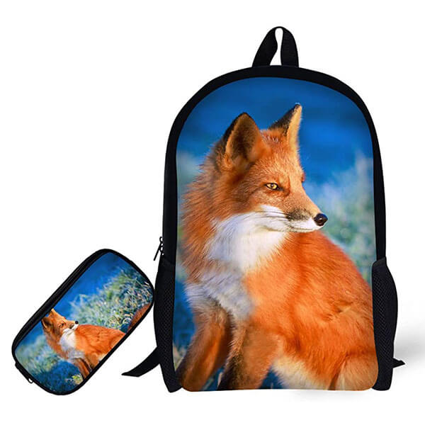 Exclusive Travel Backpack with Pencil Case