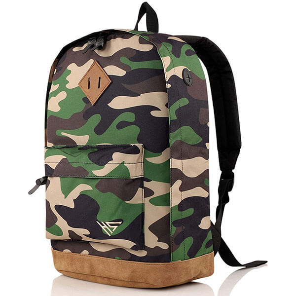 Classic Vintage Camouflage Backpack