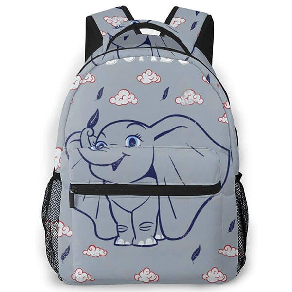 Dumbo with Clouds School Backpack