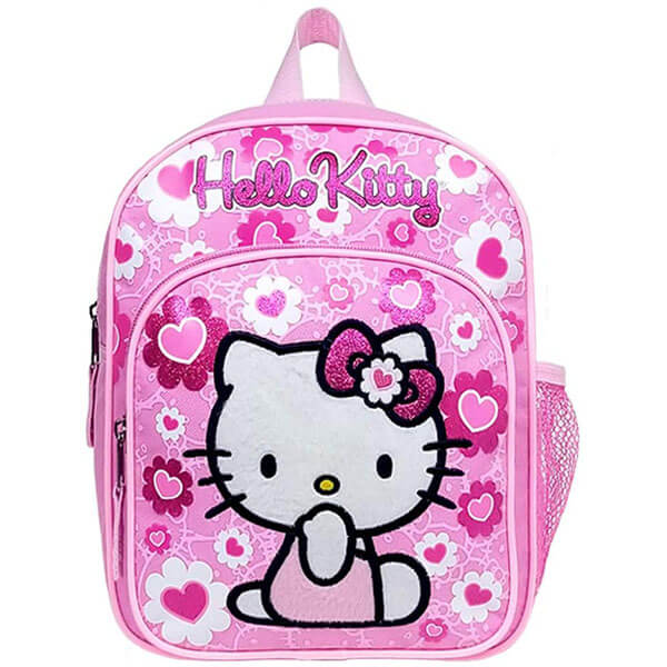Floral Print Hello Kitty Backpack