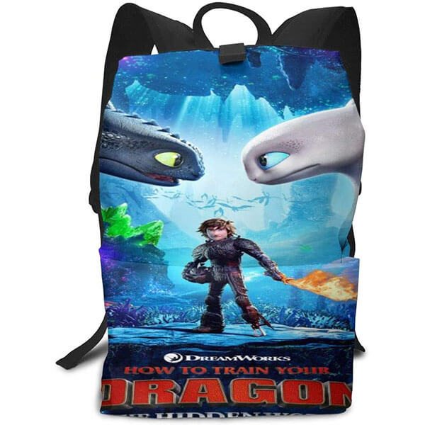 Hiccup with His Fiery Sword Backpack