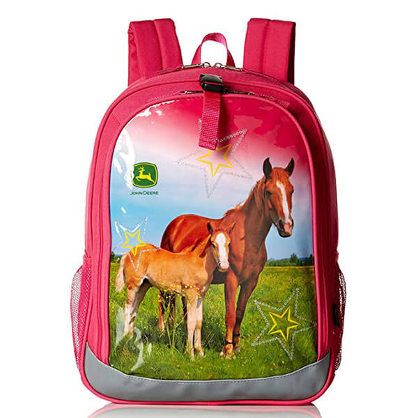 Magenta Color Heavy Duty Backpack for Kids