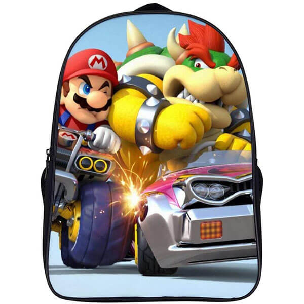 Mario and Bowser Backpack