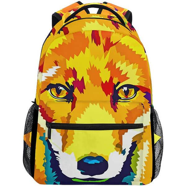 Secondary School Fox Portrait Backpack