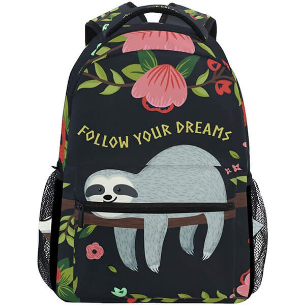 Sloth on Tree Branches Computer Backpack