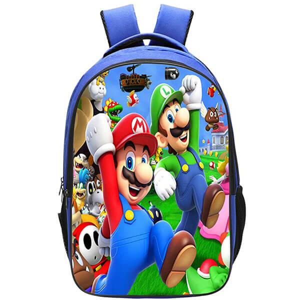 Terylene Mario and Luigi Backpack