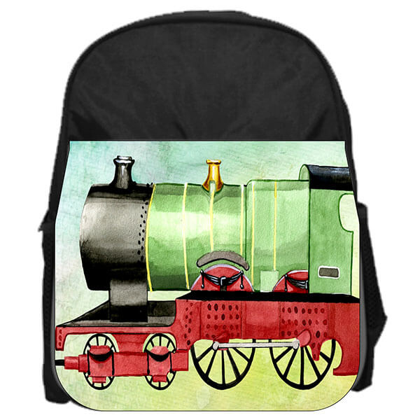 Toddler's Vintage Style Train Book Bag