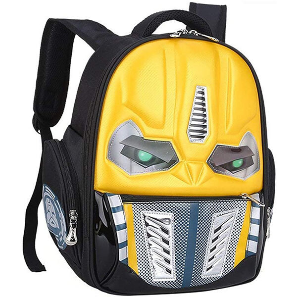 Transformer Shaped Nylon Backpack