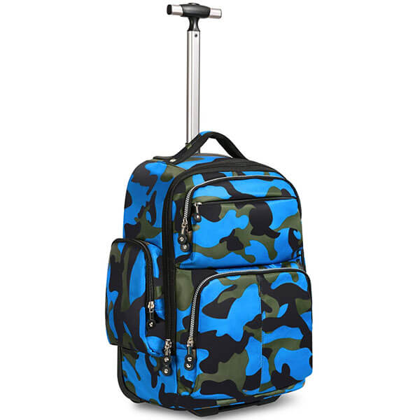 Unidirectional Wheel Rolling Backpack