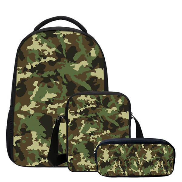 Super Durable Camouflage Combo Camo Backpack