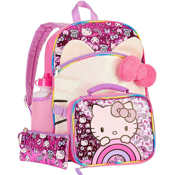Five in One Hello Kitty Backpack Set
